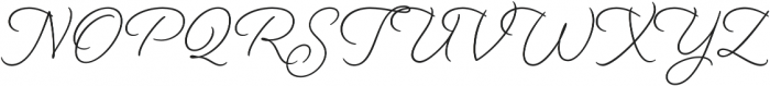 Beloved Script otf (400) Font UPPERCASE