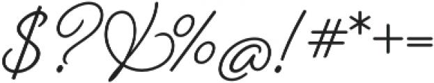 Beloved Script otf (700) Font OTHER CHARS