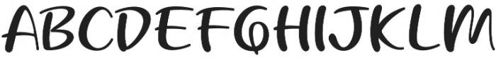 Beloved Teacher otf (400) Font UPPERCASE