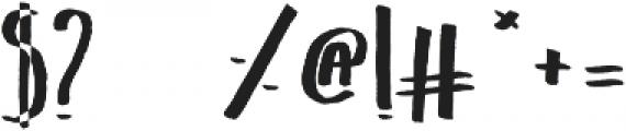 Belta Bold otf (700) Font OTHER CHARS