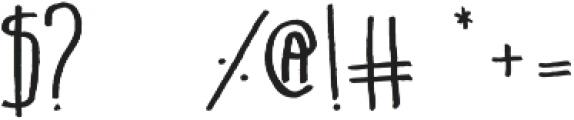 Belta Regular otf (400) Font OTHER CHARS