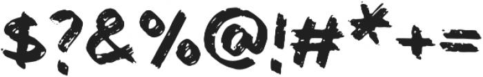 Bemarkers Font Regular otf (400) Font OTHER CHARS