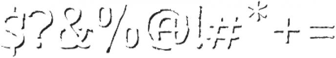 Bemol CapsShadow otf (400) Font OTHER CHARS
