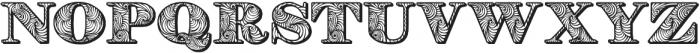 Ben otf (400) Font LOWERCASE