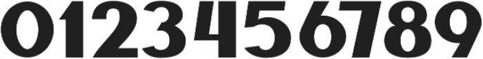 Benaco Five otf (400) Font OTHER CHARS