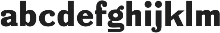 Bench Grinder Regular otf (400) Font LOWERCASE