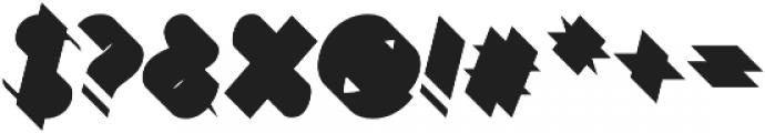 Bend FiveFull otf (400) Font OTHER CHARS