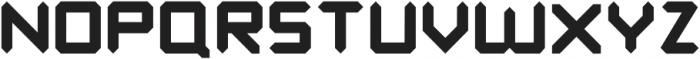 Benda Bold otf (700) Font UPPERCASE