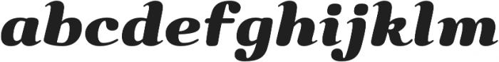 Bendita otf (400) Font LOWERCASE