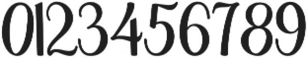 Bendong Black Regular otf (900) Font OTHER CHARS