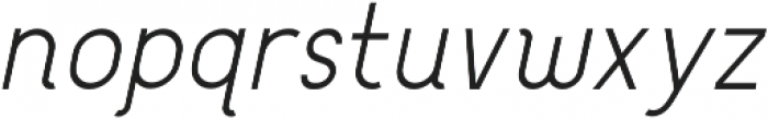 Bengrraas otf (300) Font LOWERCASE