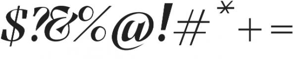 Benihana Alt One otf (400) Font OTHER CHARS