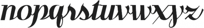 Benihana Regular otf (400) Font LOWERCASE