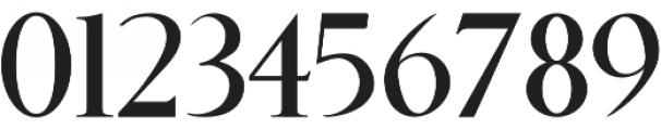 Benjamin Title Standard otf (400) Font OTHER CHARS