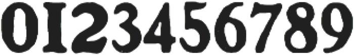 BenjaminFranklin Regular otf (400) Font OTHER CHARS