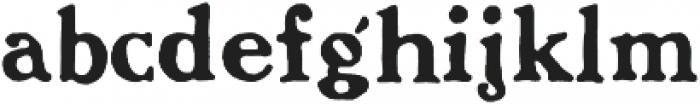 BenjaminFranklin Regular otf (400) Font LOWERCASE