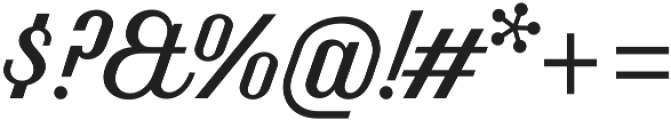 Benson Script No 20 otf (400) Font OTHER CHARS