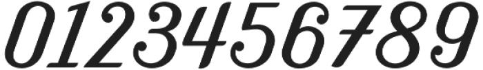 Benson Script No 25 otf (400) Font OTHER CHARS