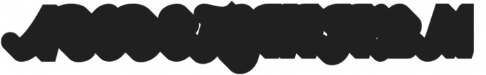Bentley Shadow ExtraBlack otf (900) Font UPPERCASE