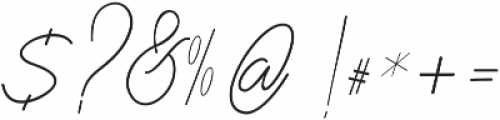 BentosaLine ttf (400) Font OTHER CHARS