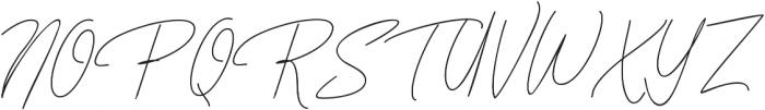 BentosaLine ttf (400) Font UPPERCASE