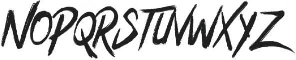 Bentrock otf (400) Font UPPERCASE