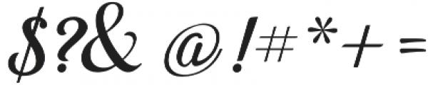 Beradon Script Regular otf (400) Font OTHER CHARS