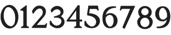 Berbati otf (400) Font OTHER CHARS