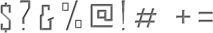 Berg Inner Ornament ttf (400) Font OTHER CHARS