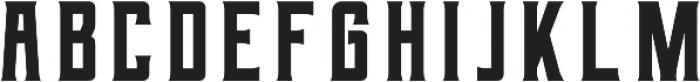 Berg Regular ttf (400) Font LOWERCASE
