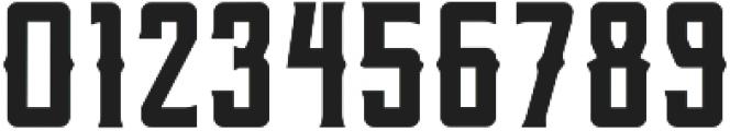 Berg Western Regular ttf (400) Font OTHER CHARS