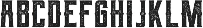 Berg western Rough ttf (400) Font LOWERCASE