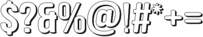 Berk Retro otf (400) Font OTHER CHARS