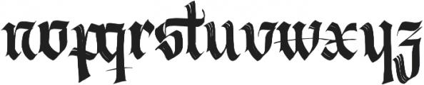 Berliner Fraktur otf (400) Font LOWERCASE