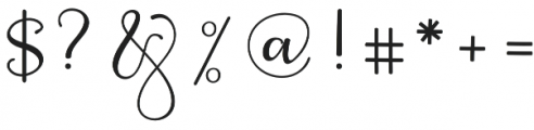 Berliyan Regular otf (400) Font OTHER CHARS