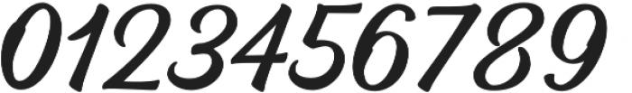 Bernadette otf (400) Font OTHER CHARS