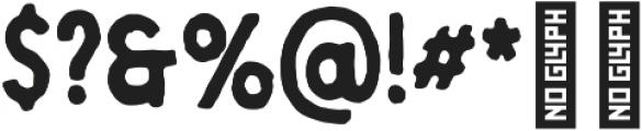 Berringer Brush otf (400) Font OTHER CHARS