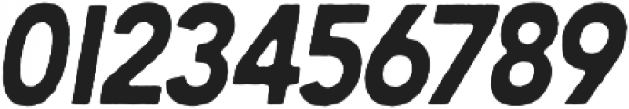 Berringer Rough - Oblique otf (400) Font OTHER CHARS