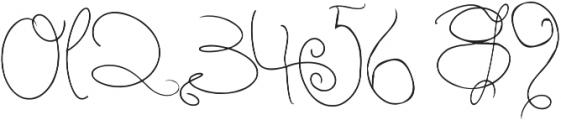 Berry Shortcake otf (400) Font OTHER CHARS