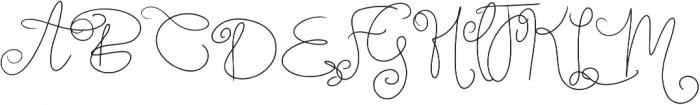 Berry Shortcake otf (400) Font UPPERCASE