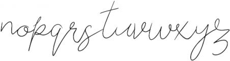 Berry Shortcake otf (400) Font LOWERCASE