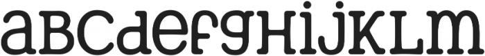 Berryfield Light otf (300) Font LOWERCASE