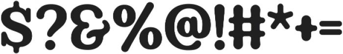Berryfield Regular otf (400) Font OTHER CHARS