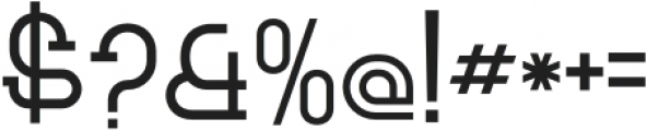 Bersabar Regular otf (400) Font OTHER CHARS