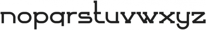 Bersabar Regular otf (400) Font LOWERCASE