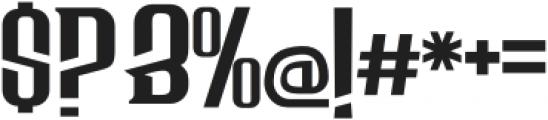 Bersepeda Regular otf (400) Font OTHER CHARS