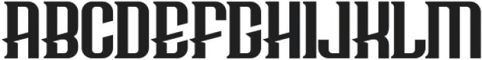 Bersepeda Regular otf (400) Font UPPERCASE
