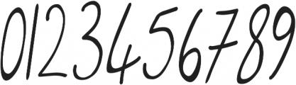 Bertha Castel otf (400) Font OTHER CHARS