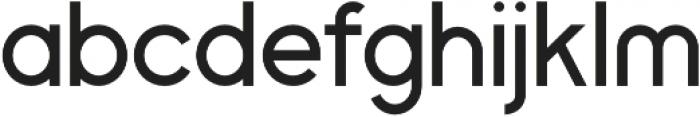 Bertha Light otf (300) Font LOWERCASE