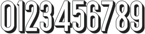 Bertobe Extrude otf (400) Font OTHER CHARS